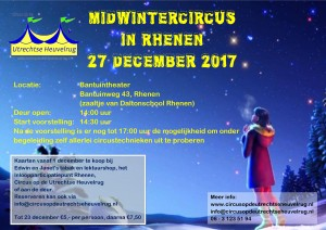 Flyer Midwintercircus 2017