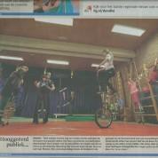 Circus op de Utrechtse Heuvelrug in de krant!
