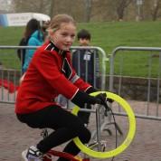 Circus op de Utrechtse Heuvelrug bij intocht Sint in Arnhem