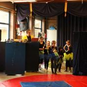 Super optreden artiesten Circus op de Utrechtse Heuvelrug