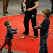 Circus op de Utrechtse Heuvelrug al hard aan het oefenen