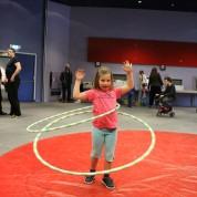 Circus Galilee uit Israël bezoekt Circus op de Utrechtse Heuvelrug