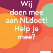 Ook wij doen mee aan NLDoet, doe je ook mee?